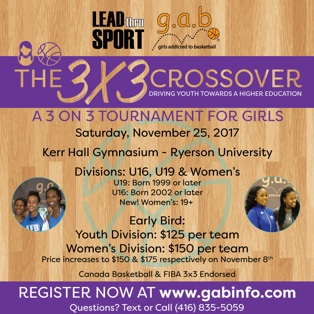 3x3 Fundraiser Supporting Female Basketball Players And Coaches